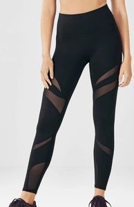 Fabletics Leggings w Mesh Cut Out Details
